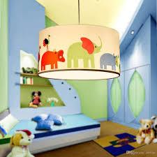 Großhandel Niedlichen Elefanten Kind Schlafzimmer Pendelleuchte Kronleuchter Baby Zimmer Cartoon Pendelleuchte Kinderzimmer Pendelleuchten Von Oovov