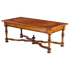 french louis xiv style cherrywood coffee table early 1900s for