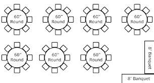 Round Table Seats X Marquee Seating Guests Dining Restaurant