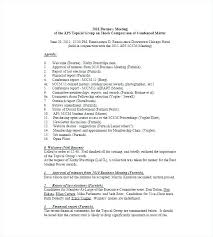 Example Of Meeting Minutes Template New Business Meeting Minutes Template Free As Well Of Format Project
