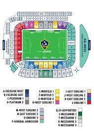 Stubhub Center Seating Chart Seating Chart