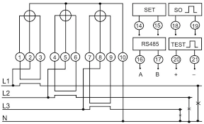 3 phase meter wiring annavernon 3 phase 4 wire diagram of energy meter electrical wiring diagrams