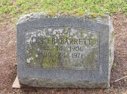 BARRETT, LESTER - Drew County, Arkansas | LESTER BARRETT - Arkansas  Gravestone Photos