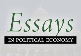 essays in political economy institute essays in political economy