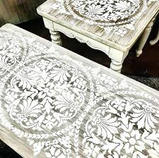 Budget Stencils Stencils For Furniture Painting Painted And Stenciled Ideas