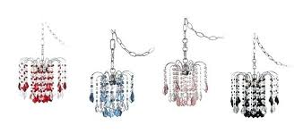 chandelier plug in wonderful inexpensive crystal chandeliers within swag