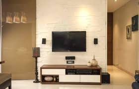 bedroom entertainment center shining floor tiles with chic and sleek using taupe accent wall color master