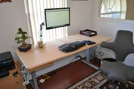 office desk for two. Office Desk For Two Monitors Y