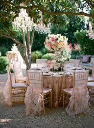 san ysidro ranch wine cellar terrace with crystal chandeliers