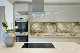 marble and granite kitchen splashback