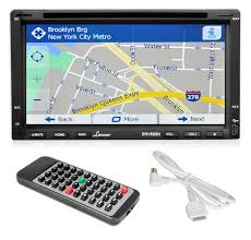 lanzar snv695n 6 95 double din touchscreen video dvd mp4 mp3 lanzar snv695n on the road headunits stereo receivers 6 95