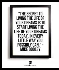 Quotes On Living Your Dreams Best of Start Living Your Dream DARE BLOG Beyond The Mailbox