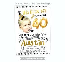 Personal Invitations Birthday Custom Personalized Birthday Invitations Four Fabulous Templates For