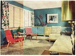 late 1940's interior decorating style | Late 1940's Living Room - a photo  on Flickriver