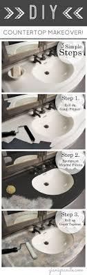 Painting Cultured Marble Sink Best 25 Paint Bathroom Countertops Ideas On Pinterest Painting