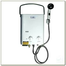 showers outdoor shower water heater portable and grab picture w