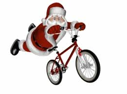 Resultado de imagem para natal de bike