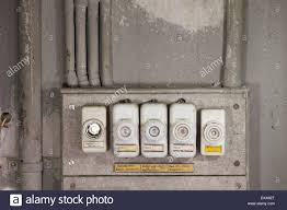 old fuses fuse box stock photos old fuses fuse box stock images close up of an array of old fashioned lead fuses in a household fuse