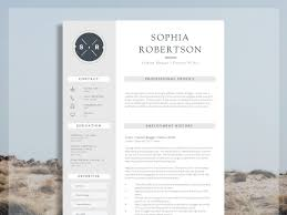 Creative Resume Template Chancery By Resume Templates On Dribbble