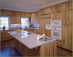 Hickory Kitchen Cabinets Natural Hickory Kitchen Cabinets Home Design Ideas