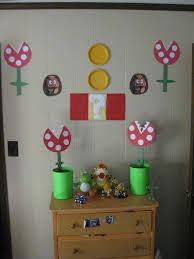 Super Mario Bros Bedroom Decor Diy Super Mario Bros Birthday Party Real Honest Mom