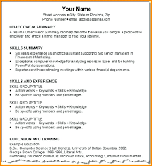 Objective Summary For Resume Unique Examples Of Objective Summary Durunugrasgrup