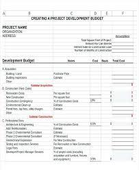 Nonprofit Budgeting Project Budget Template Nonprofit Non Profit Budget