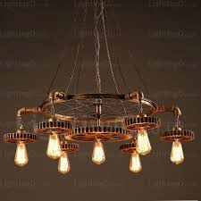 7 light vintage retro pendant lights for living room dining room bedroom