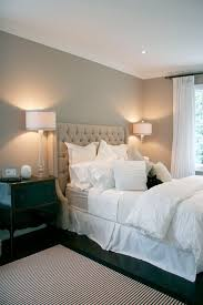 traditional master bedroom grey. Comfortable Master Bedroom With Double Beds White Bed And Grey Wall Decoration In Traditional N