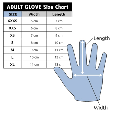 Glove Size Chart Uk C Skins Wired 2mm Wetsuit Glove