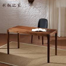 pure black walnut wood desk computer desk table simple wood furniture is new hot special offer free in dressers from furniture on aliexpress com
