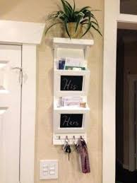mail organizer home wooden mail sorter with key rings do it yourself home projects from white mail organizer