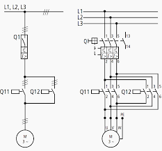 all about wiring of electric motors eep motor circuit diagram 1 pole and 3 pole representation