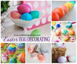 Easter Egg Designs Ideas Easter Egg Decorating Ideas Celebrating Holidays