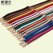 2019 las genuine leather shoulder straps for handbags replacement purse strap accessory bag leather straps for bags 130 1 8cm from shoesbuddy