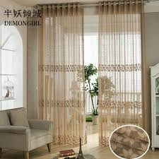 Plaid Curtains For Living Room Online Get Cheap Plaid Sheer Curtains Aliexpresscom Alibaba Group