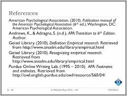 american phsycological association american psychological association 6th ed template resume