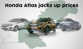 Honda Atlas Rises Car Prices For Pakistan Automark