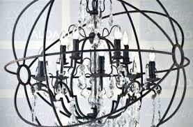 orb crystal chandelier restoration hardware orb chandelier gold