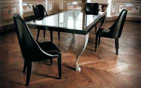 wooden dining table design with glass top dining table designs with glass top with simple black