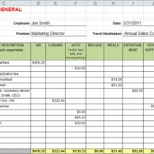 Free Expense Report Template : Oninstall