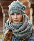 Связать шарф или снуд