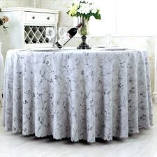 round cotton table cloth whole linens wedding party reception runner with damask satin fabric tablecloths for