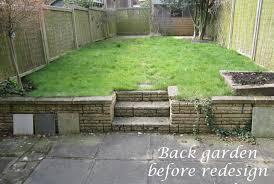 reigate back garden before redesign lisa designs