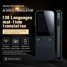 <b>Newest T10</b> Pro 138 Language Translator Smart Translator <b>Offline</b> ...
