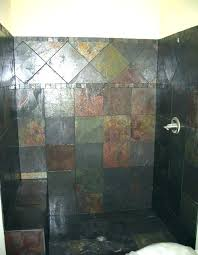 how to clean stone shower how to clean slate shower slate tiled showers custom shower tile how to clean stone shower
