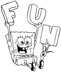Small Picture Spongebob Coloring Pages Games Coloring Site Spongebob Coloring