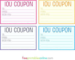 Referral Coupon Template Enchanting Printable Gift Vouchers Template Blank Free Massage Certificates