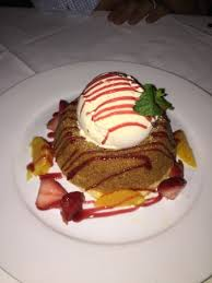 Warm Butter Cake Picture Of Mastros Steakhouse Beverly Hills