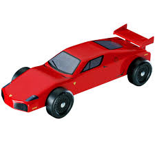 pinewood derby race cars revell pinewood derby sports car racer series kit